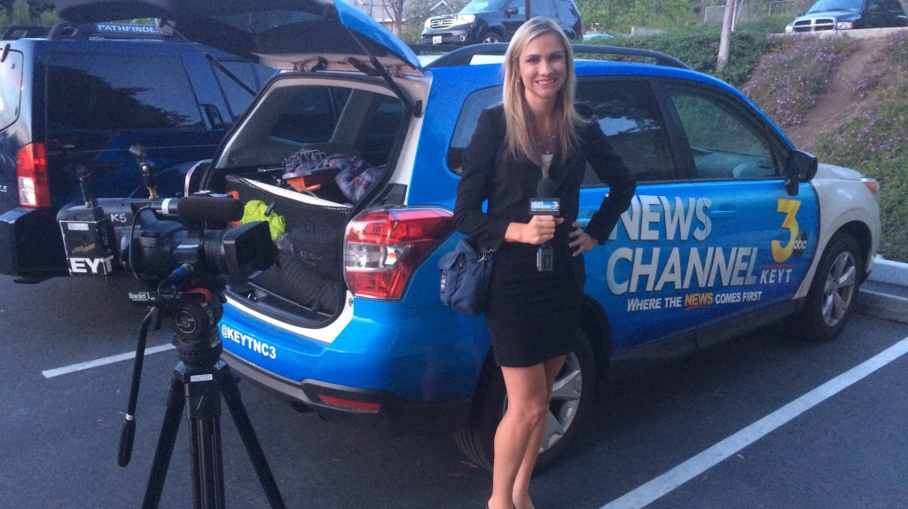 Kelsey Gerckens of KEYT3 News May 19, 2015
