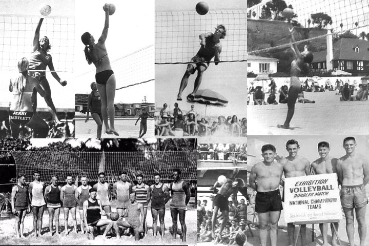 Beach volleyball was birthed on the sands of SoCal. Pick your beach and you will be sure to find a volleyball story (or at least local gone to the NCAA or the AVP). This compilation is mostly from the 1960s.