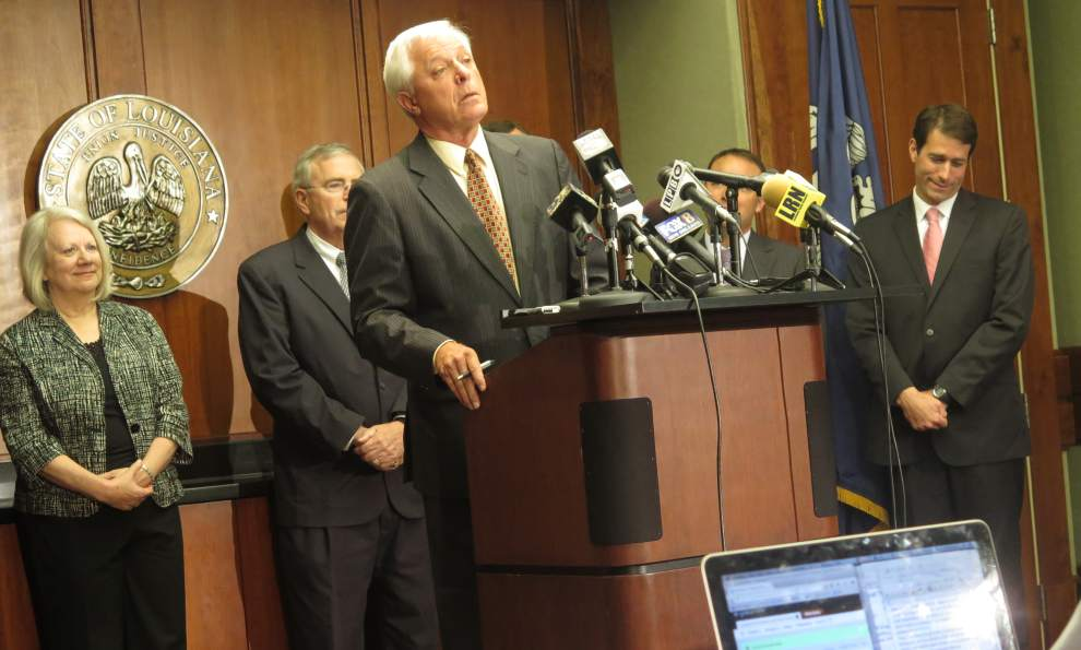 Louisiana Attorney General Buddy Caldwell announced Thursday morning that BP has reached an agreement with U.S. authorities on an $18.7 billion settlement in the 2010 Deepwater Horizon disaster in the Gulf of Mexico.  Photo: Mark Ballard, Louisiana Advocate.