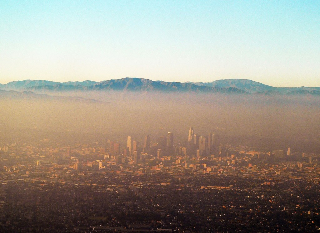 LA Air Pollution. Image: Natural Resources Defense Council.