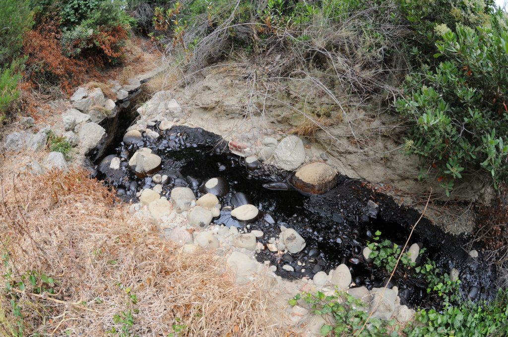 Hall Canyon Oil Spill 06-23-16
